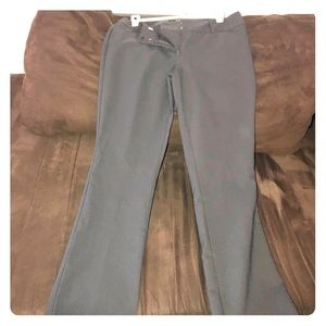 Very cute Grey slim fit stretch slacks sz 4